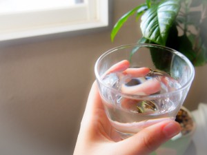 脱水症状には水分補給が大切