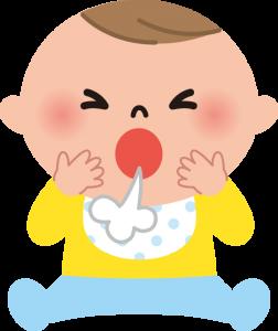 赤ちゃんの咳が続く!