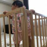 つかまり立ちの時期、ベッド事故防止対策方法
